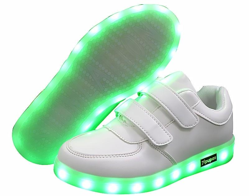 9cae784c2 bringiton-jiahui: Купить Модные 25 40 светодио дный Детские кроссовки Детская  обувь зарядка через Usb с подсветкой светящиеся для мальчиков девочек .