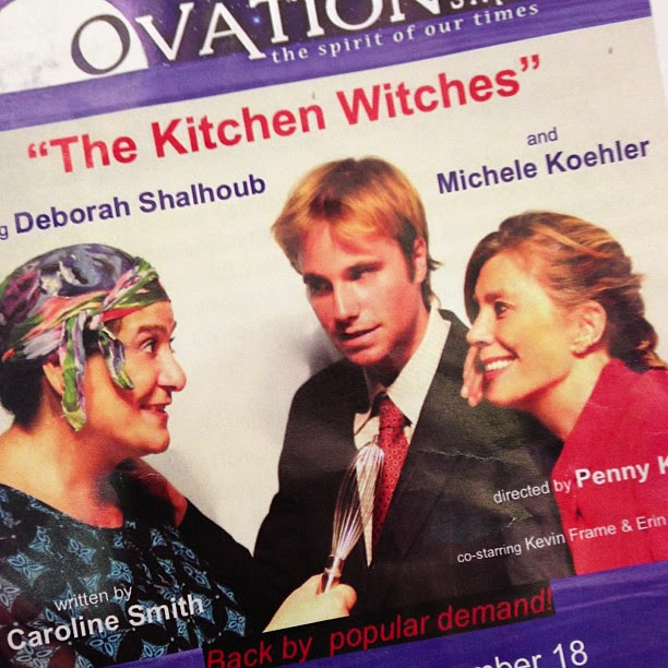 Kevin Frame in the Kitchen Witches