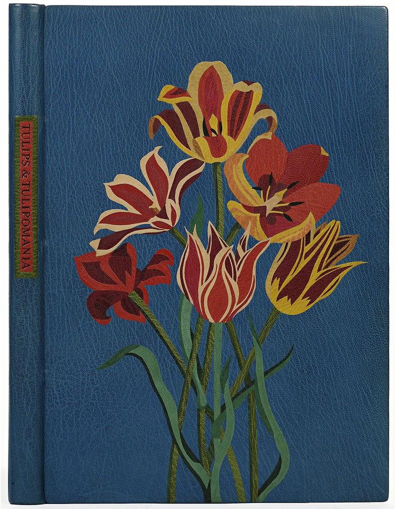 Jean Gunner 'Tulips and Tulipomania' (morocco leather) 1982 - USA
