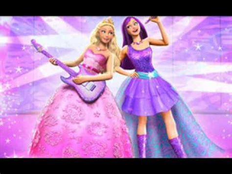 ausmalbilder barbie prinzessin und popstar - kostenlose malvorlagen ideen