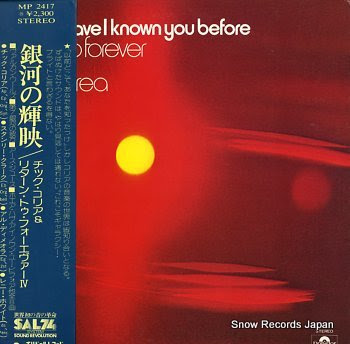 RETURN TO FOREVER where have i known you before
