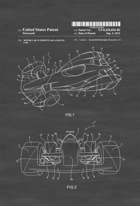 Formula One Racing Car Patent – Patent Print, Wall Decor