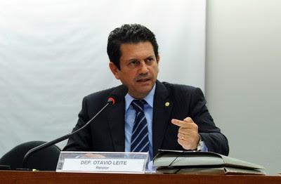 Otávio Leite relator de projeto da renegociação das dívidas (Foto: Gabriela Korossy / Câmara dos Deputados)