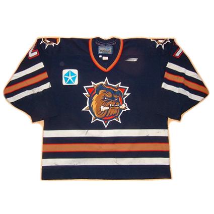 Bulldogs Oilers jersey, Bulldogs Oilers jersey