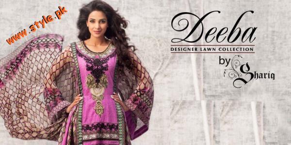 Latest Shariq Textiles Summer Dresses 2012 006