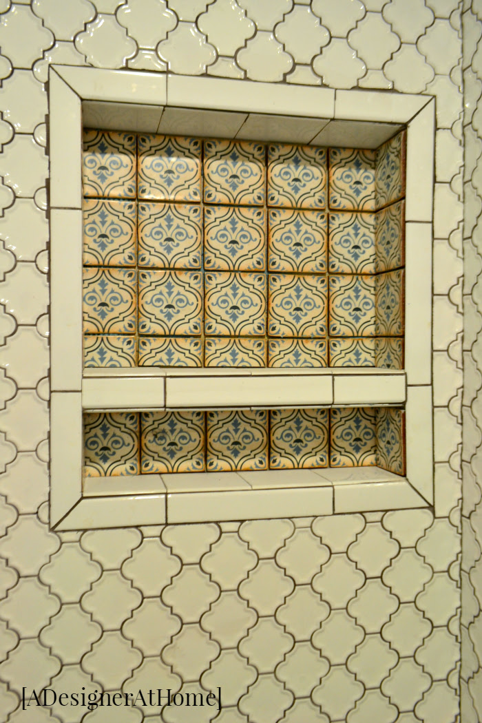 moroccan-inspired-mosaic-tile-patterned-tile-shower-ledge-shelf-insert