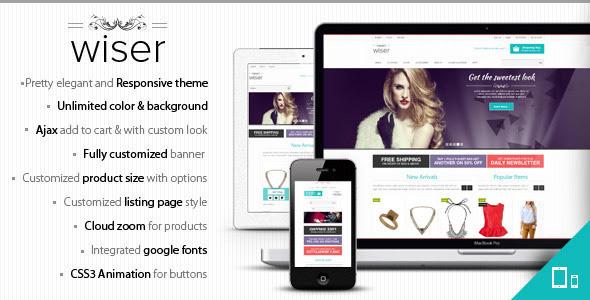Wiser responsive magento theme download free maxwellsz