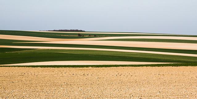 Paysage de l'Aisne, France 1