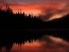 Reflection Lake, Dusk