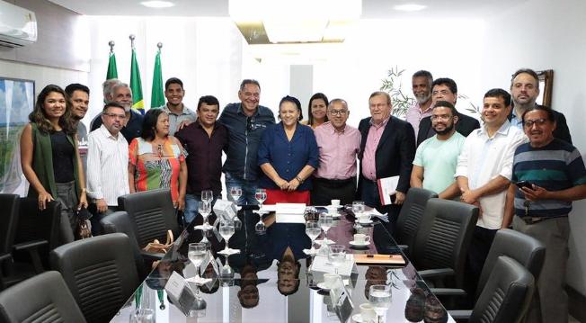 Ronaldo Venâncio reúne lideranças e vai à governadora Fátima pedir Apoio à gestão de Ceará-Mirim