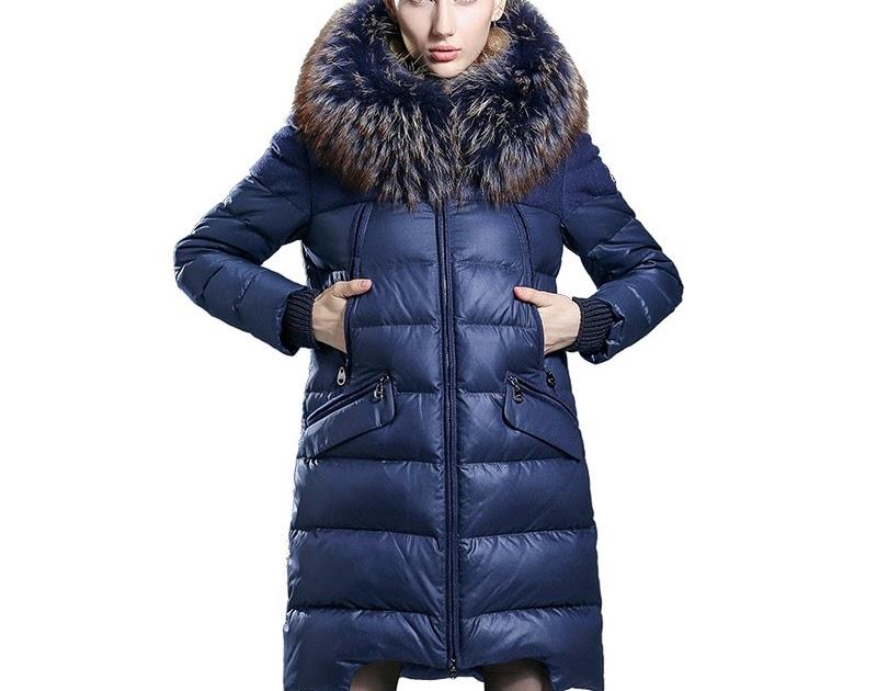 2017 Medio Un Comprar Abrigo Largo Moda Mujer Para Engrosamiento qxUZ7A