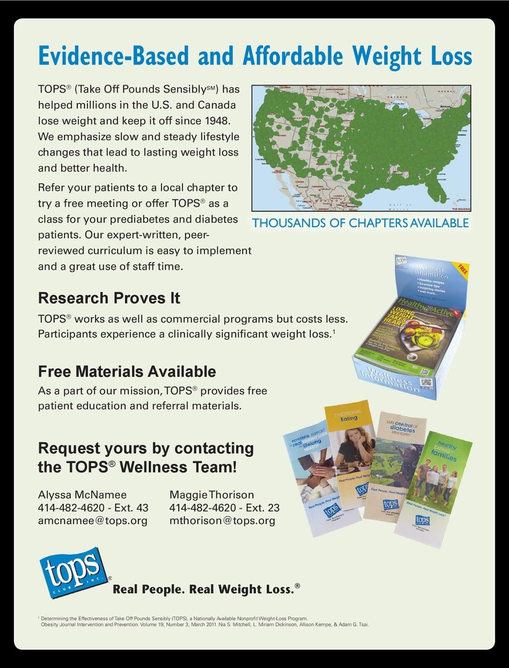 Tops Weight Loss Organization Weightlosslook