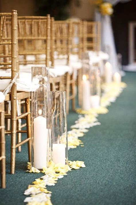 Ceremony   Wedding Aisle Decor With Candles #893719   Weddbook