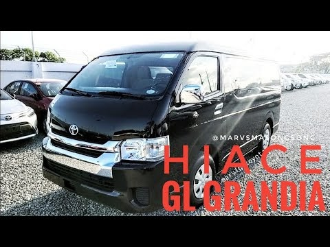 VIDEO: Toyota HIACE GL Grandia 3.0L Diesel ENGINE | Black MICA (Philippines) | Video by Marvin Masongsong