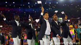 Команда спортсменов-беженцев