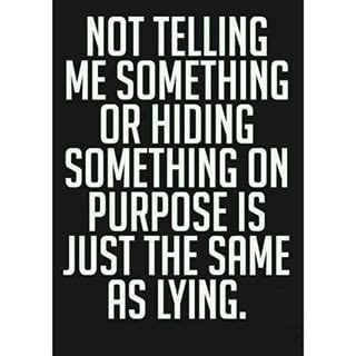 Quotes About Lying And Hiding Things