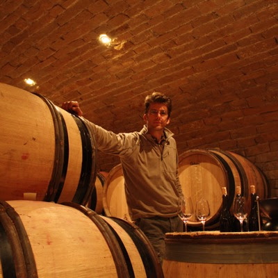 Tasting with Cyprien Arlaud in his cellar, Domaine Arlaud, Morey Saint Denis