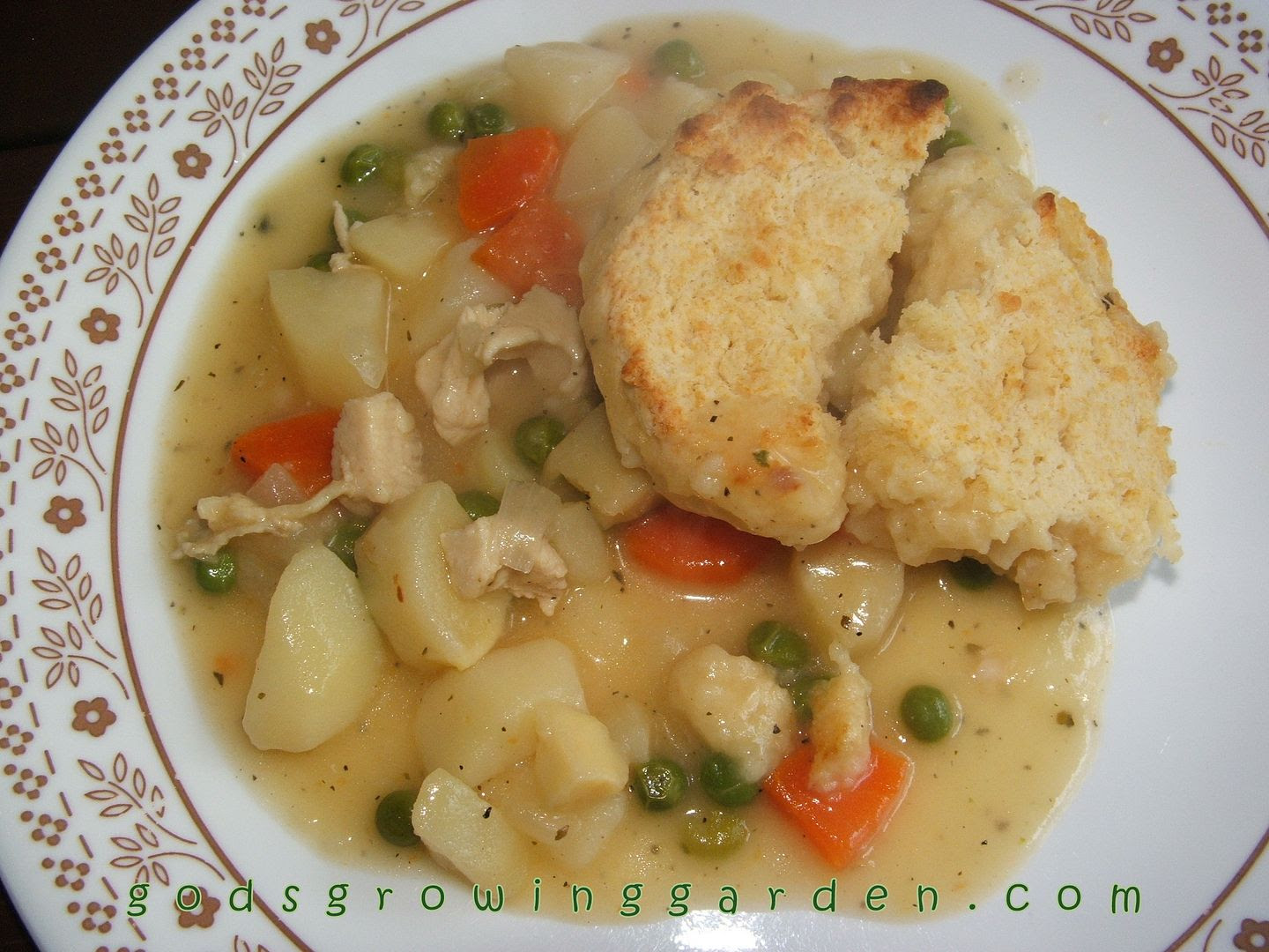 Springtime Chicken Pot Pie by Angie Ouellette-Tower for godsgrowinggarden.com photo 015_zpsfdf5561e.jpg
