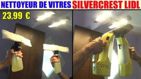 nettoyeur-de-vitres-silvercrest-sfr-3-7-lidl-cordless-vacuum-cleaner-akku-fenstersauger-test-avis-prix-notice-caracteristiques