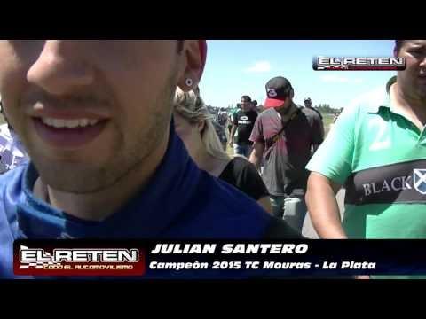 Julián Santero es el nuevo campeón de TC Mouras