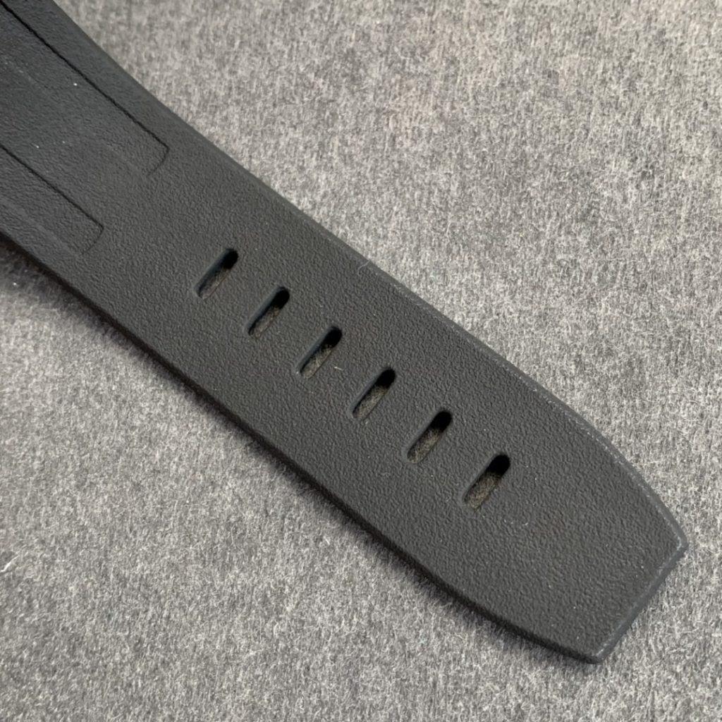 Audemars Piguet 15706 Black Rubber Strap