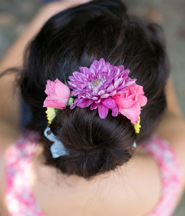 DIY Flower Bun Wrap | Henry Happened