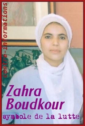 Resultado de imagen de Zahra Boudkour