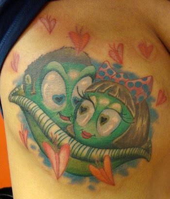 Scott Olive Tattoo Tattoos Custom Two Peas In A Pod
