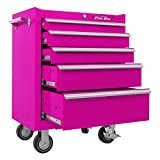 Pink Tool Box Rolling Cabinet