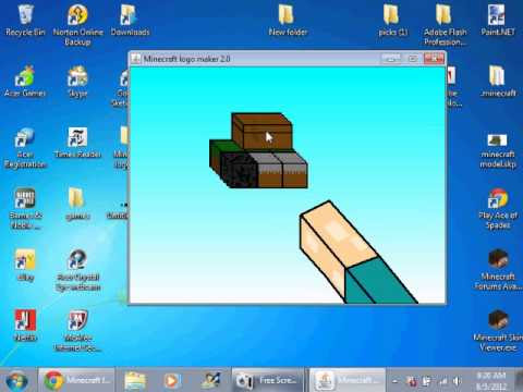 Minecraft Skin Logo Maker Ceria K0