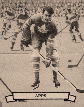 Syl Apps Leafs, Syl Apps Leafs