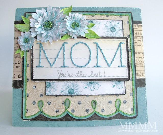 Tiffany Doodles Mom card