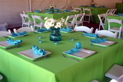 Anyone going with Blue, Green and White colors?   Wedding