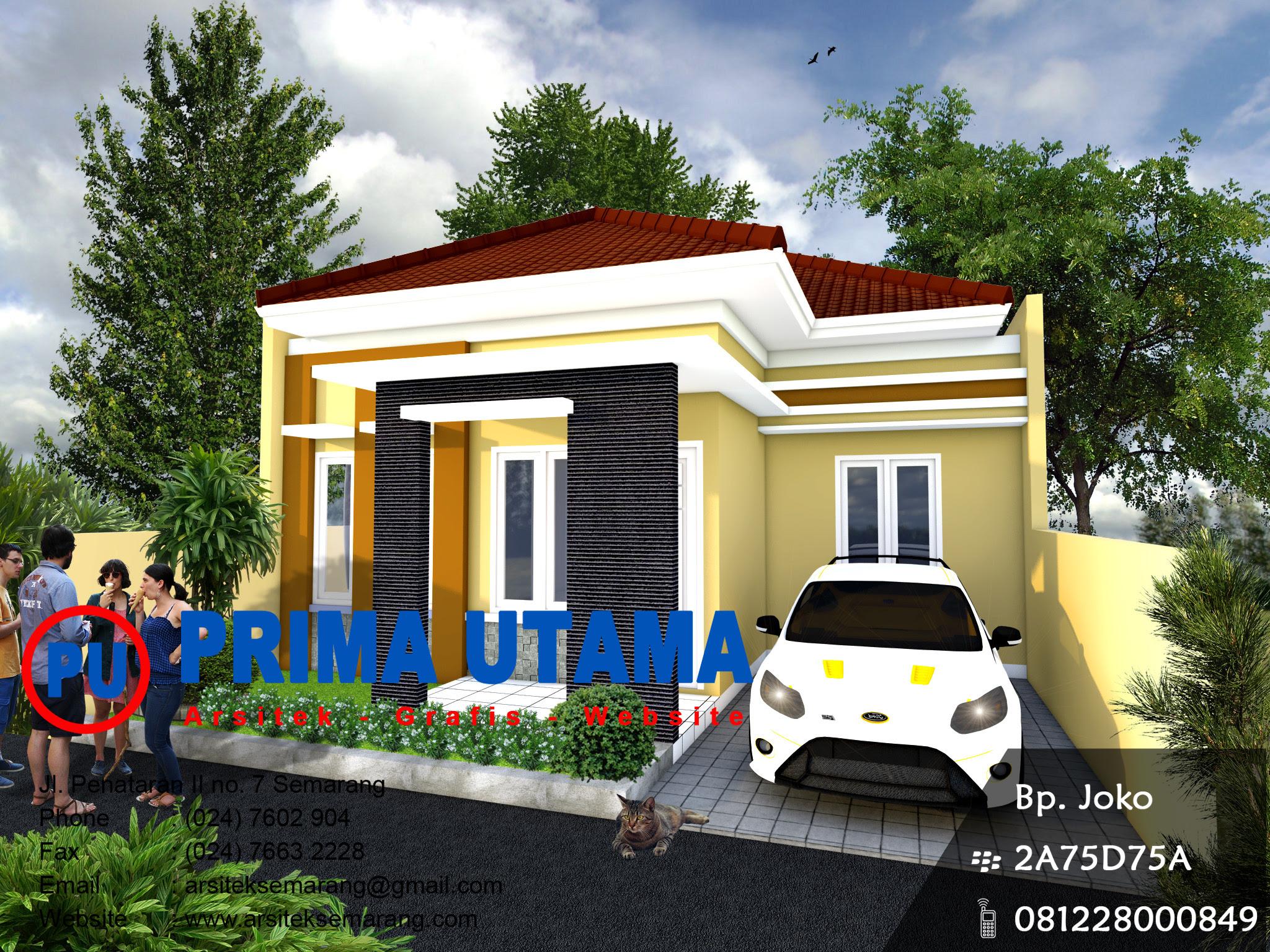 Jasa Desain Rumah Minimalis di Cilacap  CV. PRIMA UTAMA