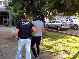 Operação Mercador, da Polícia Civil de Pernambuco. (Foto: Flávio Henrique Pereira / TV Globo)