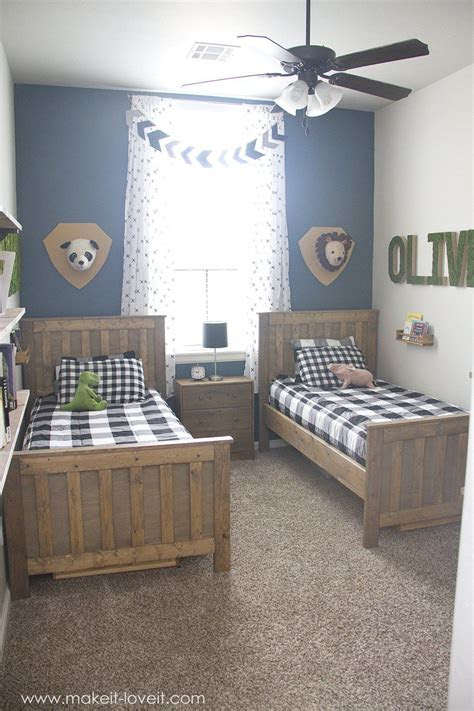 ideas   shared boys bedroom yay