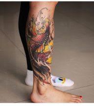 32 Ideas De Tatuajes De Pez Koi O Carpas Japonesas Tatuajes Geniales