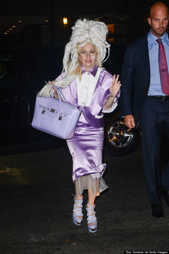 lady gaga old lady
