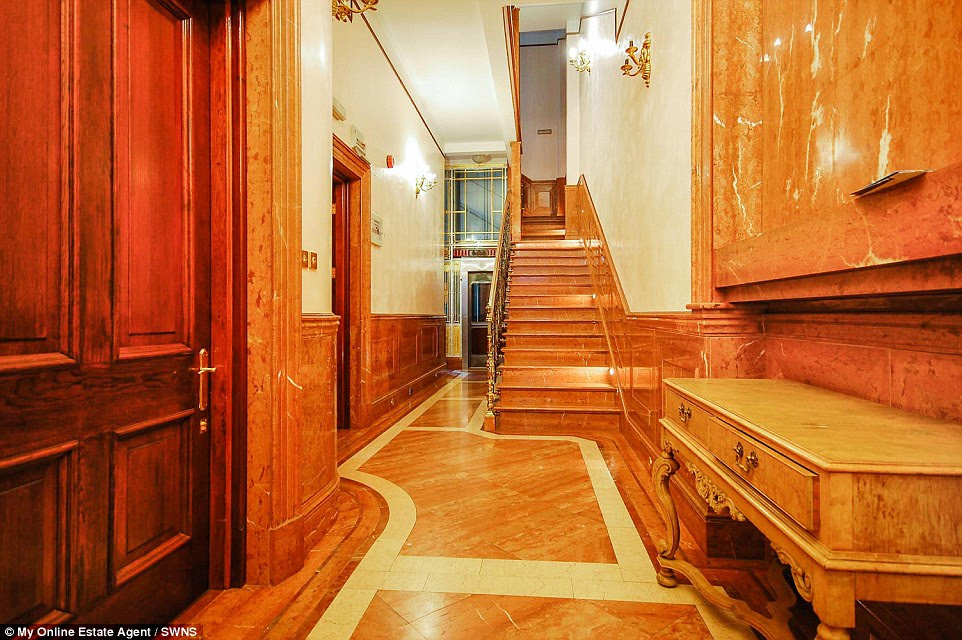 Wood panelling is found throughout the property, which has many unique and original features which have had an obvious effect on its asking price