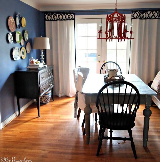 bluediningroom via the little black door