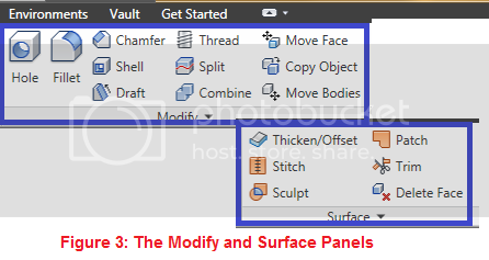 modify and surface panels
