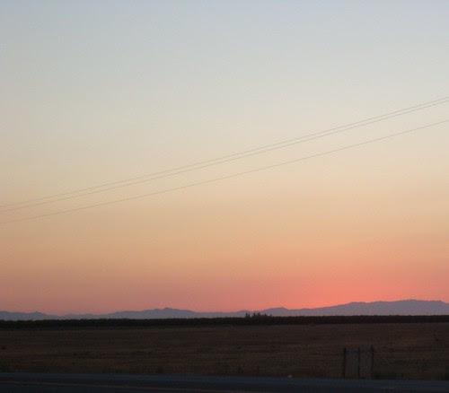 Lost Hills Sunset