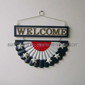 Welcome Wall Decoration Craft (SFW1510) - China Wall Decoration ...