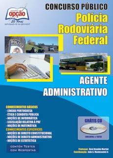 PRF - Polícia Rodoviária Federal-AGENTE ADMINISTRATIVO