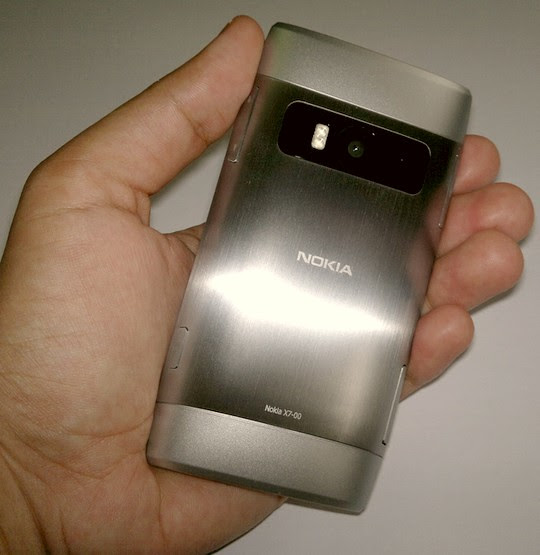 nokia X7 camera