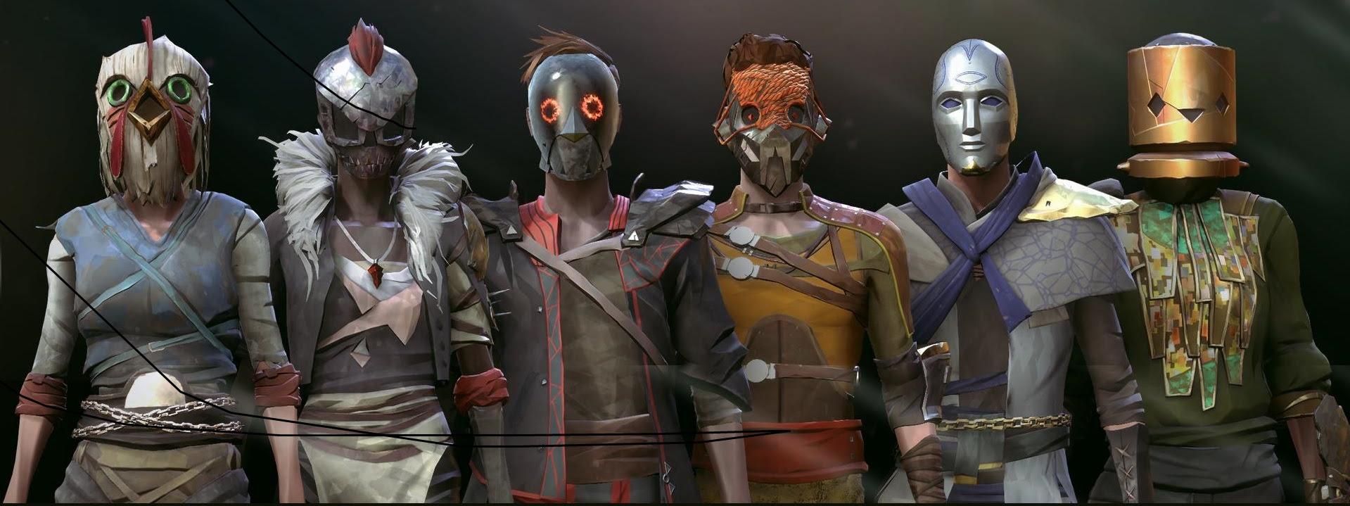 Absolver's newest update adds Devolver Digital-themed masks screenshot