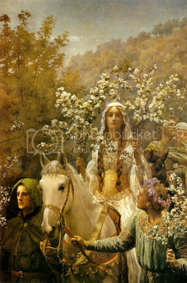 John_Collier_Queen_Guinevres_Maying
