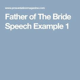 father  bride speech images  pinterest