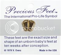 click to see the Precious Feet at SPUC