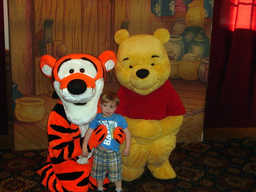 With Pooh & Tigger